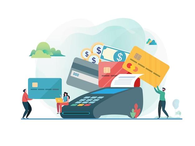 Mit kreditkarte bezahlt