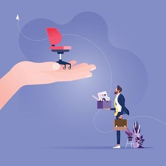 Mitarbeiter mit neuem job personalmanagement auf der suche nach professioneller mitarbeiterarbeit richtiger lebenslauf gefunden
