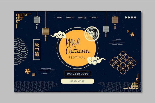 Mitte herbst landing page