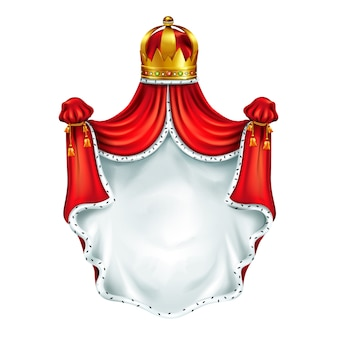 Mittelalterliches wappen, heraldisches wappen