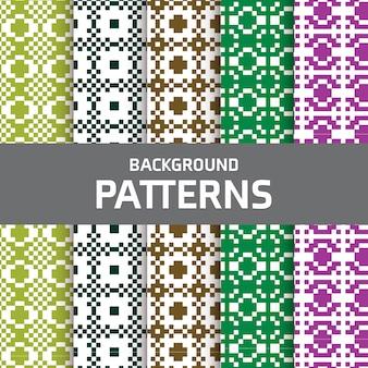 Mix pattern hintergrund