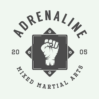 Mixed martial arts-logo