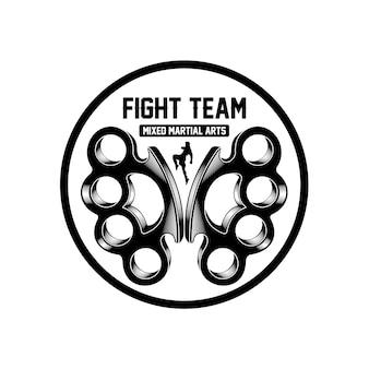Mma kampf team logo