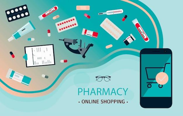 Mobile anwendung für den online-verkauf von arzneimitteln rabatte auf medizinprodukte