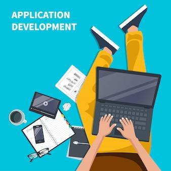 Mobile anwendungen und entwicklungskonzept