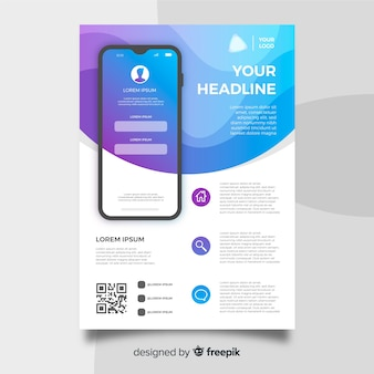 Mobile app-flyer