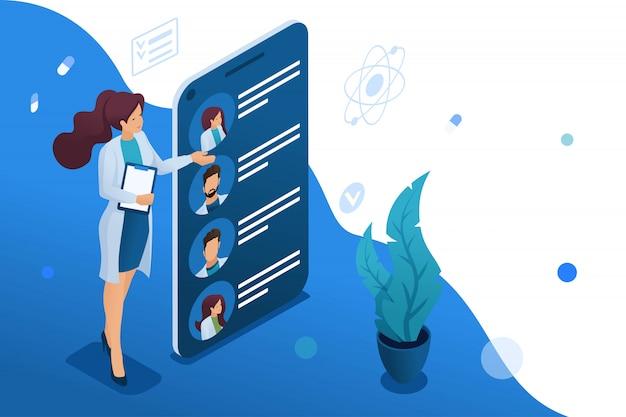 Mobile app für die suche nach ärzten in ihrer nähe