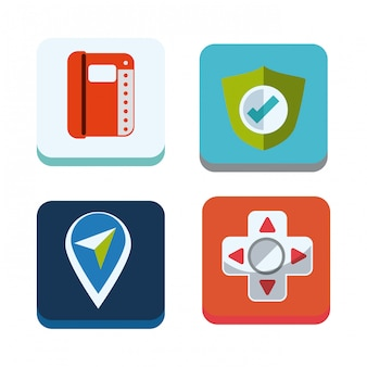 Mobile apps design.