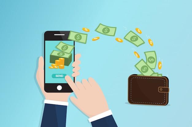 Mobile geldüberweisung