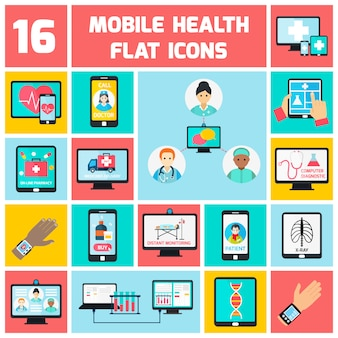 Mobile gesundheitselemente festgelegt