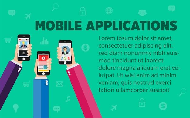 Mobiles anwendungskonzept