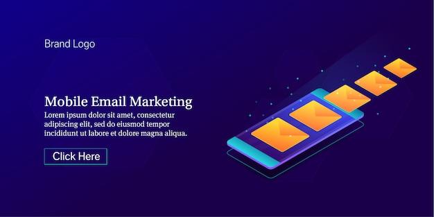 Mobiles e-mail-marketing-banner