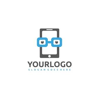 Mobiles geek-logo