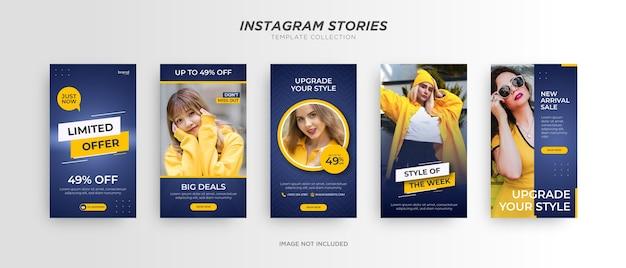 Mode banner. social media promotion