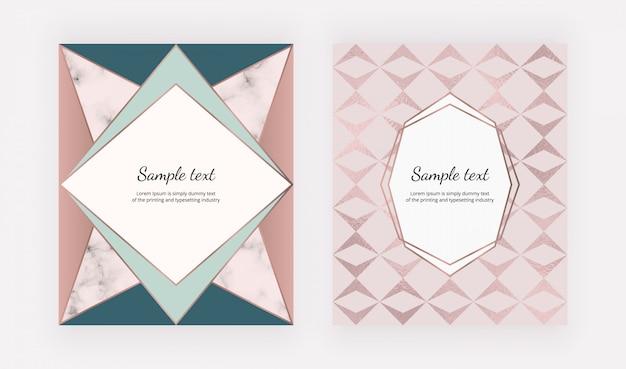 Mode geometrische abdeckungen design.