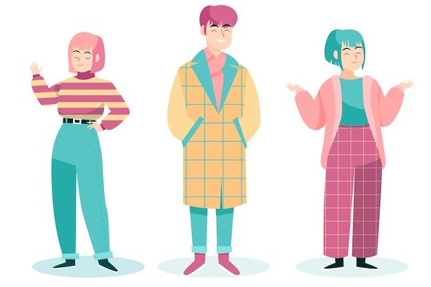 Mode junge koreaner
