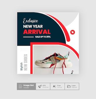 Mode social media topf design flyer quadrat post design verkauf post vorlage geschichte thema