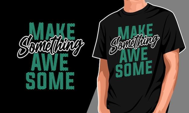 Mode stahl mein lächeln t-shirt design