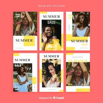 Mode verkauf instagram geschichten collectio