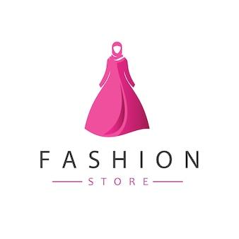 Modegeschäft logo design vektor