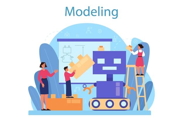 Modellierung des schulfachkonzepts