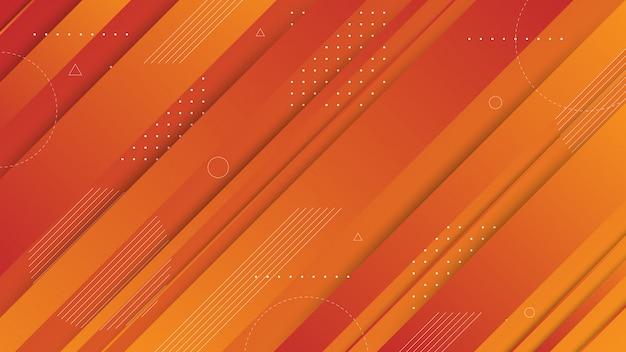 Moderne abstrakte grafische elemente. abstrakte steigungsfahnen mit flüssigen flüssigen formen und diagonalen linien. vorlagen für landingpage-design oder website-hintergrund.