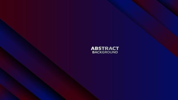 Moderne abstrakte hintergrund mit farbverlauf überlappen mit schatten
