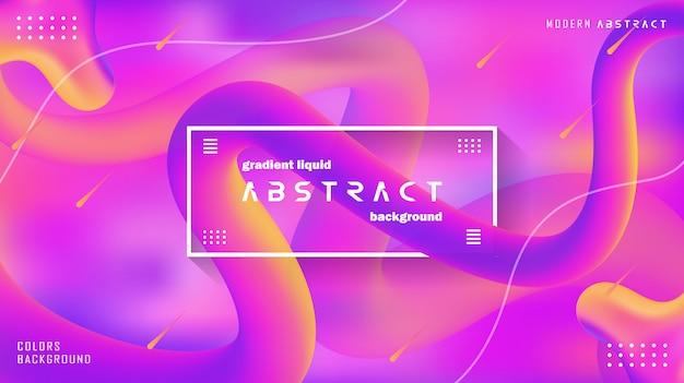 Moderne abstrakte hintergrund-steigungs-farbe