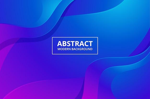 Moderne abstrakte hintergrundtapete in der lebendigen blauen rosa lila farbe