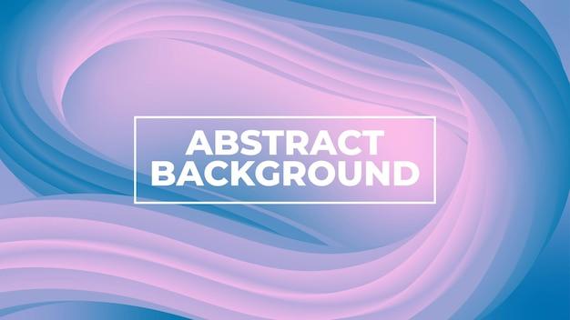 Moderne abstrakte welle flüssiger steigungsformhintergrund-landingpage