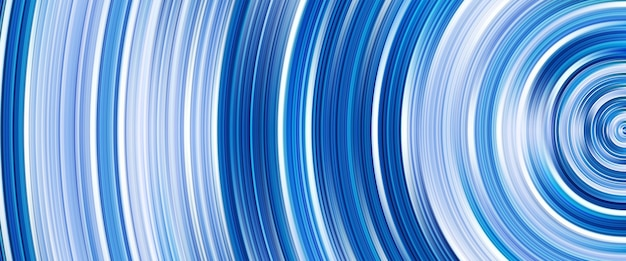 Moderne blaue farbe wirbeln und kreisen
