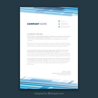Moderne broschüre, technologischer stil