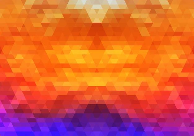 Moderne bunte geometrische formen