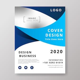 Moderne business flyer designvorlage