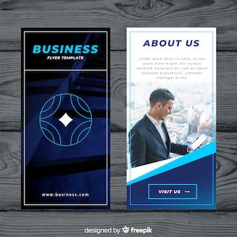 Moderne business-flyer-vorlage