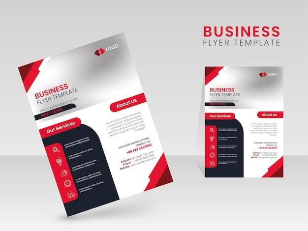 Moderne business-flyer-vorlagen