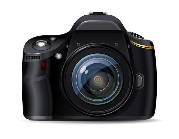 Moderne digitale spiegelreflexkamera, originelles design