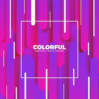 Moderne farbe splash banner