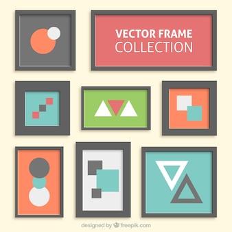 Moderne frames sammlung
