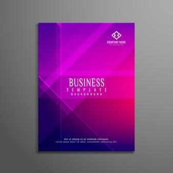 Moderne geometrische business-broschüre design
