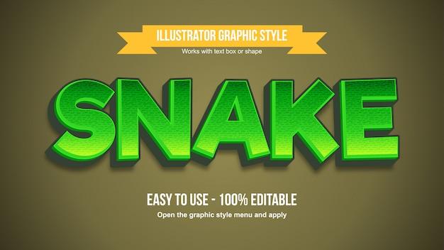 Moderne grüne mutige cartoon-typografie mit muster