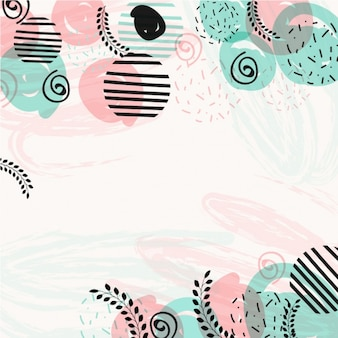 Moderne hintergrund in pastellfarben