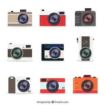 Moderne kamera-kollektion