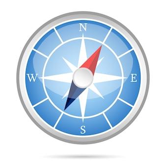 Moderne kompassikone