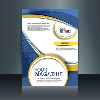 Moderne magazin-cover
