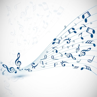 Moderne musik hintergrund
