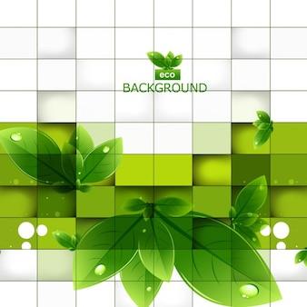 Moderne ökologie hintergrund