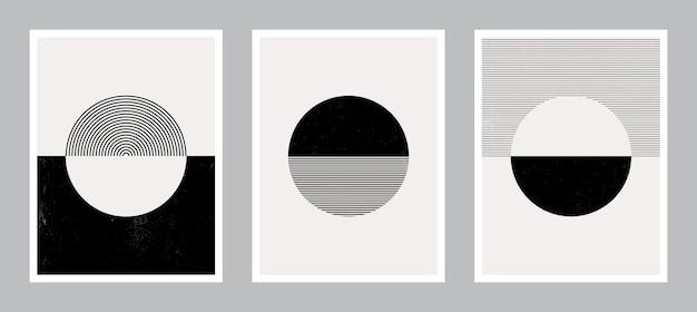 Moderne plakatkunst für druck. abstrakte wandkunst. digitale innendekoration art.