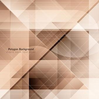 Moderne polygonform hintergrund-design