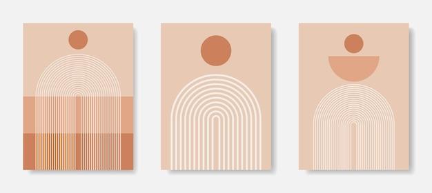 Moderne rahmenkunst. abstrakte wandkunst. digitale innendekoration art.
